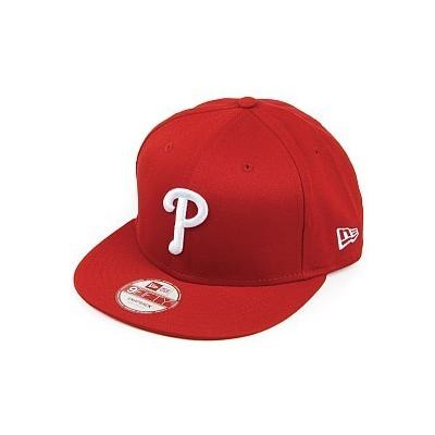 ... New Era Caps New Era 9fifty Philadelphia Phillies Baseball Cap Classic  Red 123bde90578