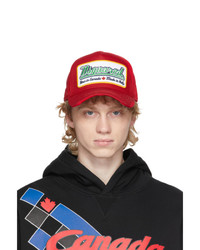 DSQUARED2 Red Caten Bros Cap