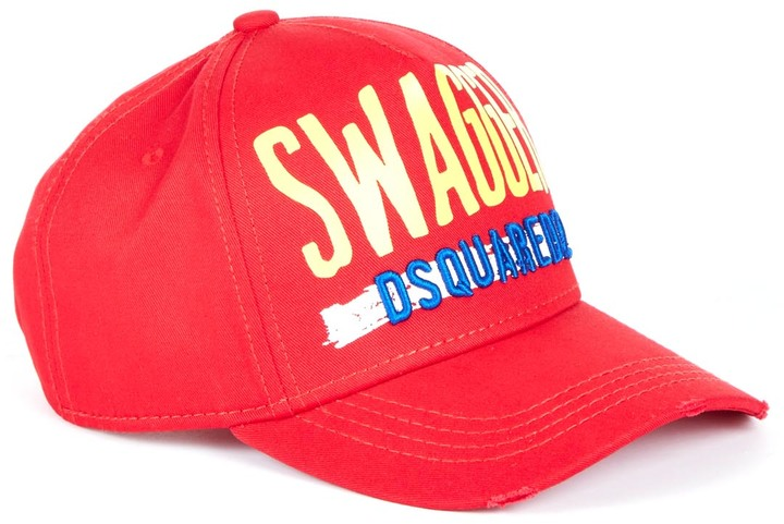 7896741983f0 DSQUARED2 Swagger Baseball Cap,  135   Scoop NYC   Lookastic.com