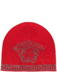 Medusa intarsia beanie hat medium 5054012