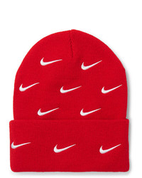 Nike Nrg Logo Embroidered Stretch Knit Beanie