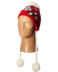Betsey Johnson Vintage Rose Earflap Hat