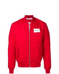 Calvin Klein Jeans Contrast Logo Bomber Jacket