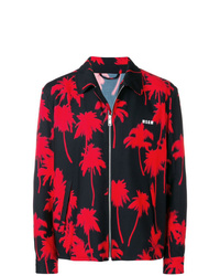 MSGM Palm Tree Print Jacket