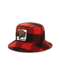 Goorin Bros. Extra Buff Buffalo Check Flannel Bucket Hat