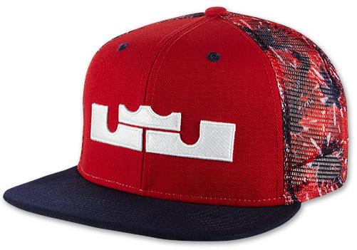 ... Nike Lebron 4th Of July Snapback Hat ...