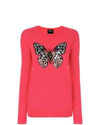 Butterfly sequin sweater medium 8495873