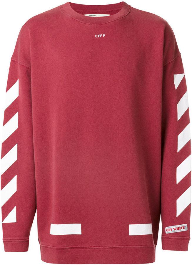 Off-White Printed Sweatshirt, $459