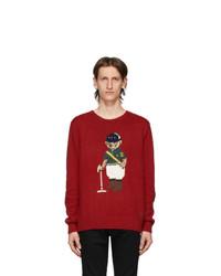 Polo Ralph Lauren Red Riding Bear Sweater