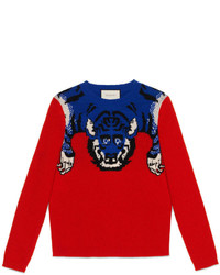Gucci Tiger Wool Sweater