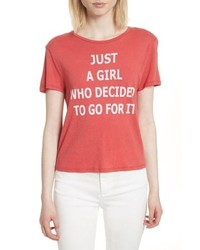 AO.LA by alice + olivia Ao La Just A Girl Cicely Classic Tee
