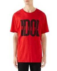 Gucci Billy Idol Oversize T Shirt