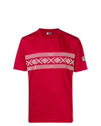 Z Zegna Cable Print T Shirt