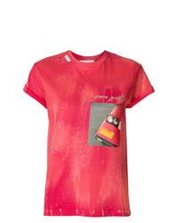Forte Dei Marmi Couture Car Bumper Print T Shirt