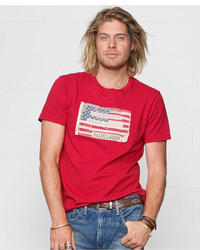 Denim & Supply Ralph Lauren Core American Flag Graphic T Shirt