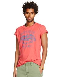 Denim & Supply Ralph Lauren Cotton Hawk Graphic T Shirt