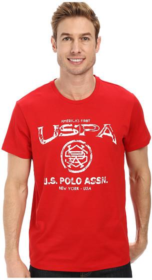 U.S. Polo Assn. Crew Neck Uspa Graphic T Shirt | Where to buy ...