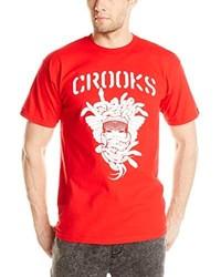 16e0adca1bd5d ... Crooks   Castles Knit Crew T Shirt Stencil Medusa