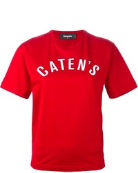 Dsquared2 Catens Printed T Shirt