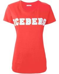 Iceberg Logo Print T Shirt