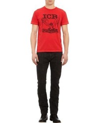 Icr The Innercity Raiders Eagle Graphic Tee Shirt Red