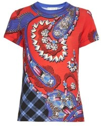 Mary Katrantzou Iven Printed Jersey T Shirt