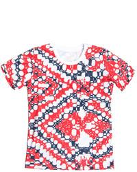 Ksenia Schnaider Pixel 04 Print T Shirt