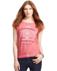 Lauren Ralph Lauren Lauren Jeans Co Marine Print Graphic T Shirt