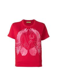 Versace Jeans Logo Patch T Shirt