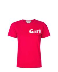 Comme Des Garçons Girl Logo T Shirt