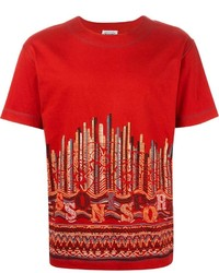 Missoni Vintage Graphic Print T Shirt