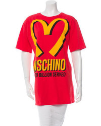 Moschino Couture Printed Short Sleeve T Shirt