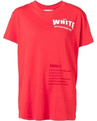 Off-White Printed T Shirt