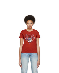 Kenzo Red Limited Edition Tiger T Shirt