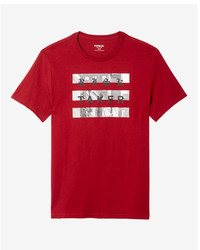 Express Red Risk Taker Graphic Tee