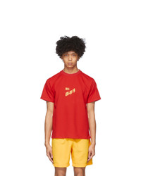 all in Red T Shirt