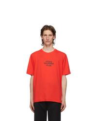 Stolen Girlfriends Club Red Techno Punk T Shirt