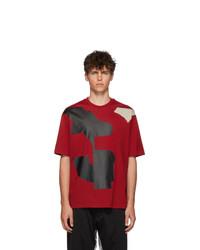 Y-3 Red Varsity T Shirt