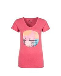 Roxy Print Tshirt Red