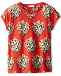 Dolce & Gabbana Sacred Heart Jersey Tee T Shirt
