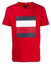 Tommy Hilfiger Signature Stripe T Shirt