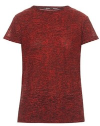 Proenza Schouler Static Print Cotton Jersey T Shirt
