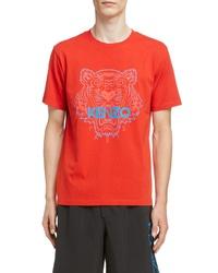 Kenzo Tiger Graphic T Shirt