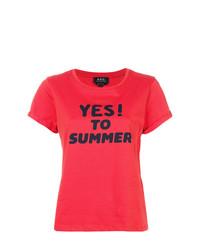 A.P.C. Yes Print T Shirt
