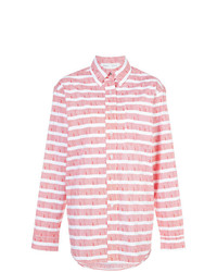 Proenza Schouler Pswl Graphic Stripe Shirt