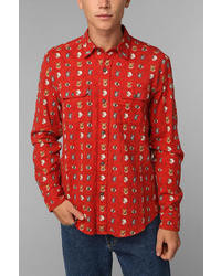 Urban Outfitters Stapleford Howler Flannel Button Down Shirt