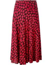 Missoni Vintage Dot Print Midi Skirt
