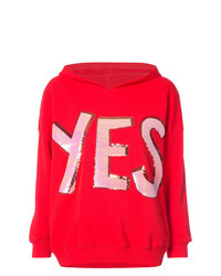 Alice + Olivia Aliceolivia Yes Hooded Sweatshirt