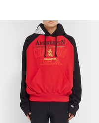 Cotton Printed Loopback Blend Hoodie Champion Vetements Jersey XTOPiZku