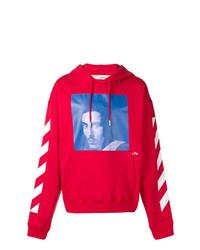 48edb75c Off-White Men's Red Hoodies from farfetch.com | Men's Fashion ...